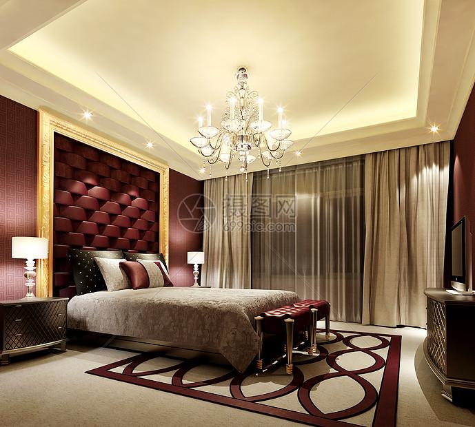 花瓣 举报 标签: 欧式背景墙软包次卧室床品卧室效果图地毯主卧室