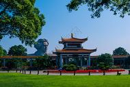 湖南长沙橘子洲头风景图片