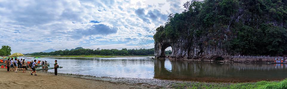桂林象山公园图片