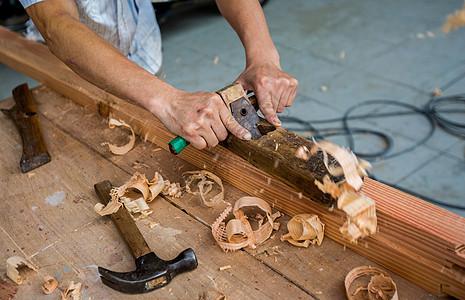 木匠的工具图片