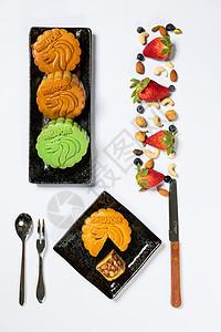 美食月饼图片