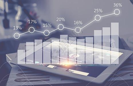 科技金融数据图片