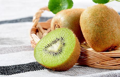 四川特产有机猕猴桃水果图片