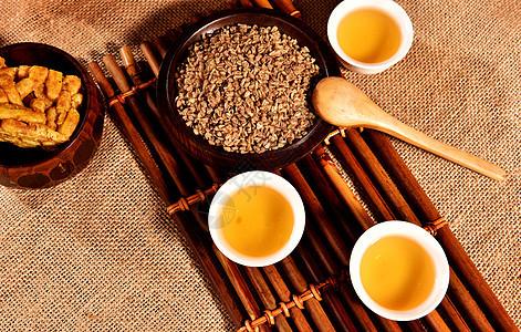 四川特产凉山苦荞茶图片