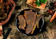 西藏牛肉干自制牦牛肉干图片
