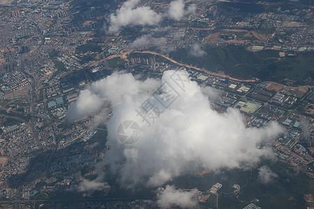 飞机上往下看到的奇异世界图片