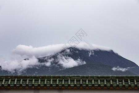 山雾云图片