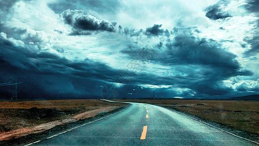 青藏线公路可可西里图片