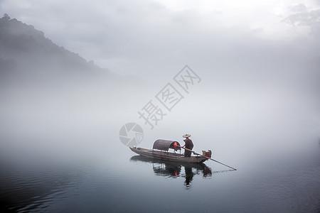 小东江迷雾图片