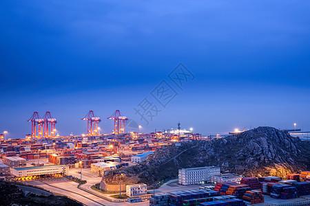 洋山港风光图片