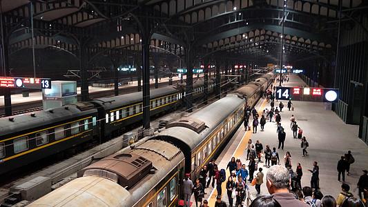 哈尔滨火车站图片