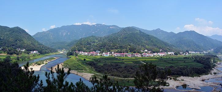 青山绿水新农村图片