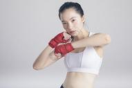 拳击运动健身女性图片