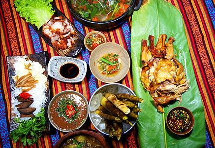 少数民族云南傣族美食图片