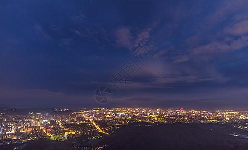 昆明城市夜景图片