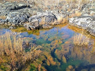 五大连池碧泊湖面图片