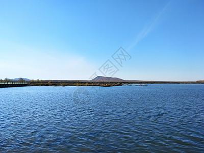 五大连池火山堰塞湖图片