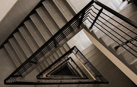 几何旋梯图片