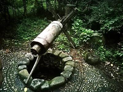 中南百草园的井图片