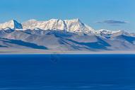 西藏纳木错雪山圣湖图片