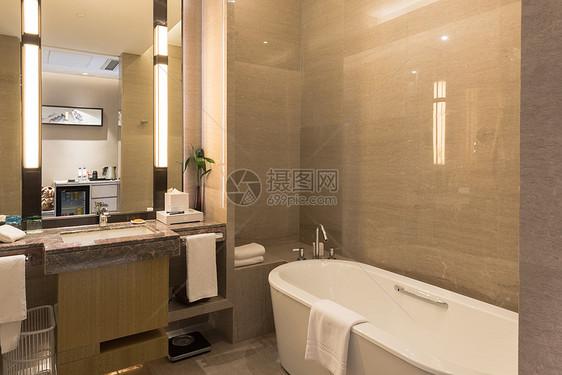 酒店卫生间浴室图片