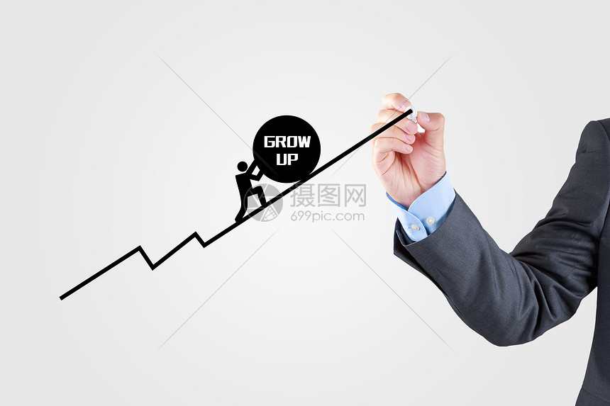 增长的业务图片