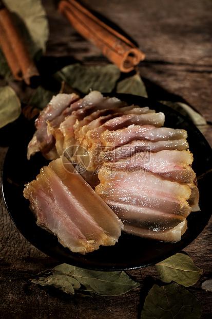 五花肉腊肉图片