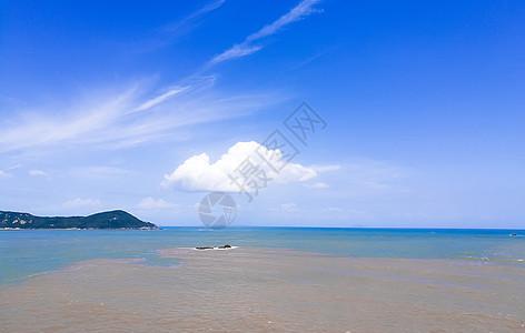 蓝天大海图片