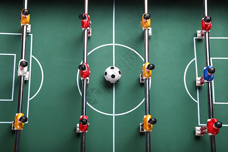 桌面足球游戏图片