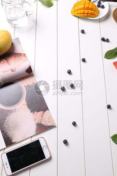 新鲜水果芒果静物图片