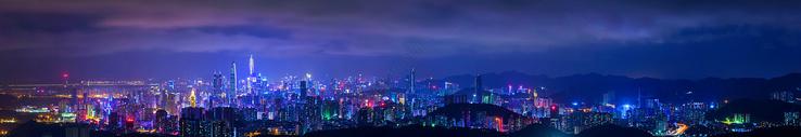 深圳城市夜景图片