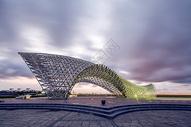 上海南汇嘴钢雕图片