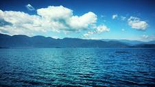 云南大理洱海风景图片