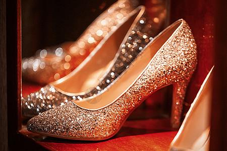 闪亮高跟鞋图片