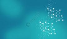医疗科技分子图片