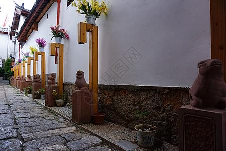 云南丽江小巷图片