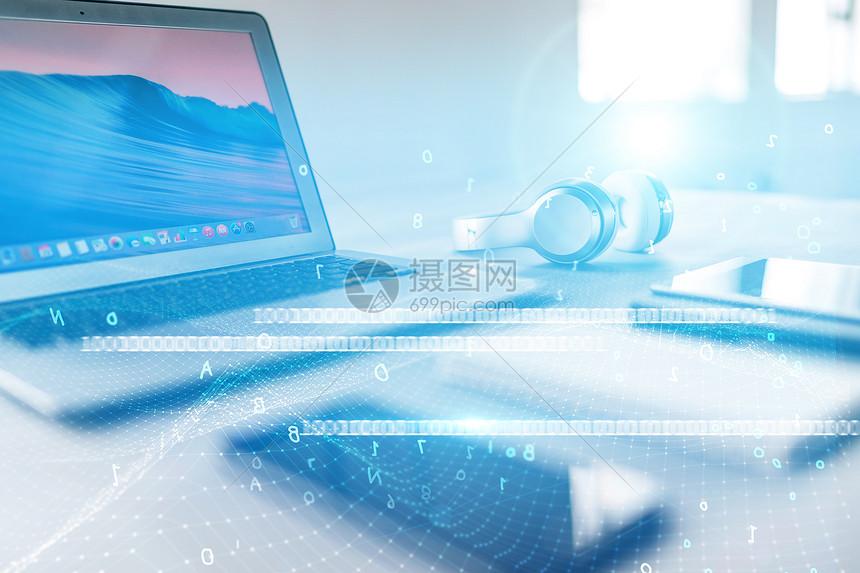 科技感电子产品图片