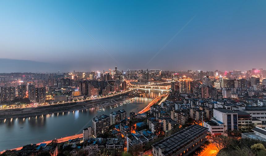 重庆城市夜景景观图片