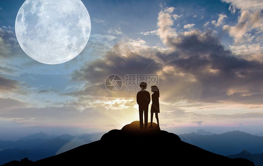 星空夜景图片
