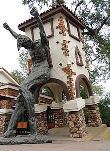 哈尔滨游乐园雕塑图片