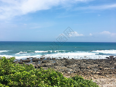 太平洋的风浪图片