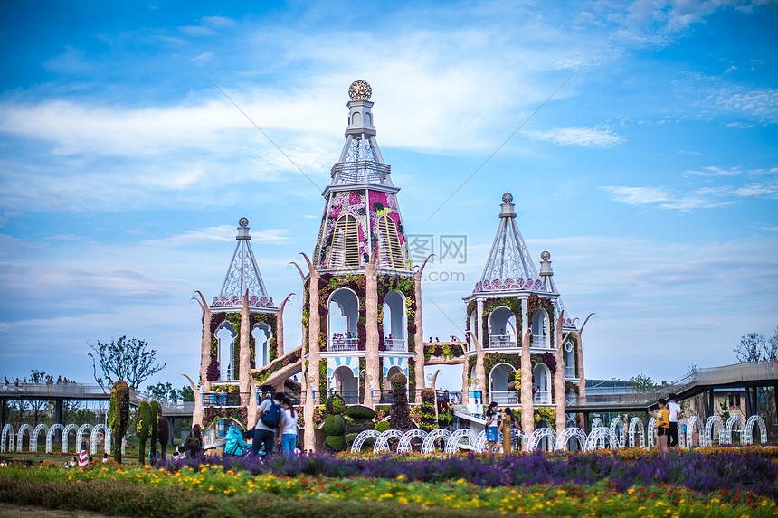 上海浦江郊野公园城堡图片