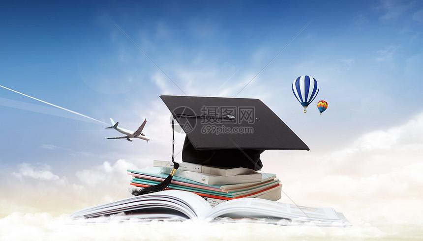 留学梦图片