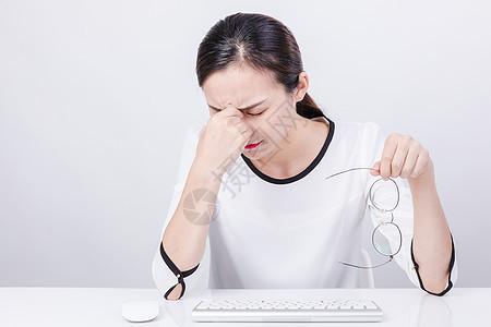 职业女性商务办公棚拍图片