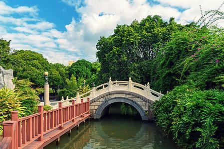 拱桥石桥风光图片