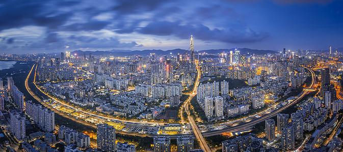 深圳平安大厦全景图片