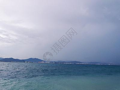 平静的海 三亚图片