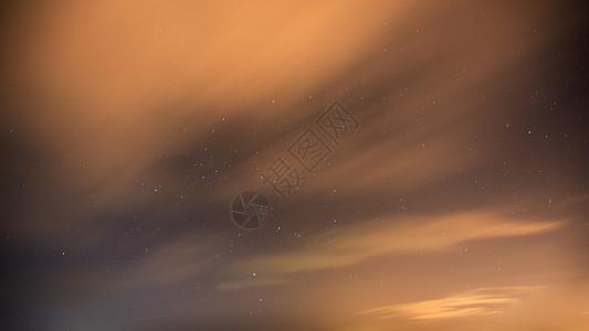 流动的云图片