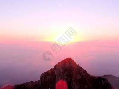 泰山山顶风景图片