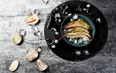 海鲜产品龙虾淡水虾大虾图片